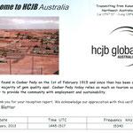 HCJB - Australia - 2013