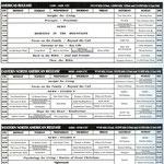 HCJB - Sendeplan Englischer Dienst von ca. 2000