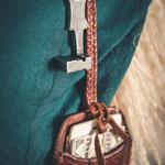 Gehänge mit römischem Schiebeschlüssel, Kamm