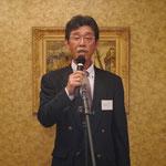 新会長に選任された高沢秀雄社長