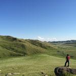 ホスタイ国立公園にて、タルバガンを探す岡林立哉