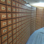 モンゴルでは皆私書箱をつかう。家にはポストなし。