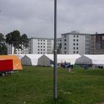 Prora neue Jugendherberge mit Zeltplatz
