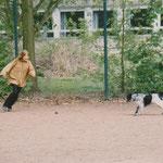 Fußball mit Janina