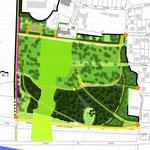 EVRY (91) / Réaménagement du PARC BATAILLE / 2008-2012 / C.A EVRY CENTRE ESSONNE / Surface : 2800m2 / Budget : 1,2 M€ HT / Mission Complète (Tr.Cond. pour DET/AOR) - LFDP : B.POURRAIN / A. AL FREIJAT / C. BATISSE