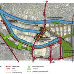 BONNEUIL-SUR-MARNE  (94) / Réaménagement du port autonome de Bonneuil-sur-Marne / 1999-2005 / PORT AUTONOME DE PARIS / Mandataire : J-F FEVERT Architectes-Urbanistes / Mission Concours B.POURRAIN pour Ingénieurs&Paysages