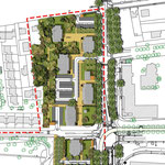 CLERMONT-FERRAND  (63) / Réaménagement du QUARTIER CROIX DE NEYRAT / 2002-2005 / VILLE DE CLERMONT-FERRAND / Mandataire : R. GOURDON Architecte-Urbaniste / Budget prévisionnel: 6 M€ HT/ Mission Etude urbaine L.DUFOUR pour Ingénieurs&Paysages