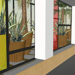 VERSAILLES / Aménagement d'un patio sur dalle - Lycée Ste Geneviève / 2010 / Lycée Privé de Ste Geneviève / Mandataire : ED Architectes /  Surface : 350m2 / Budget : 190 000€ HT / Mission : Complète - LFDP : B.POURRAIN