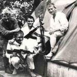 Тотские лагеря. Наряд на караул. 1979г.