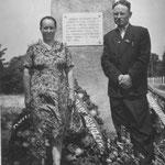 Ришат Салихович с женой Сарвой газизовной в Бреской крепости на месте разрушенных казарм 455 стрелкового полка