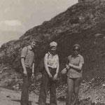 Археологическая разведка в Стерлитамакском районе. Около д. Гумерово. 1976г.
