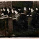 Порвый выпуск средней школыё 1956 год