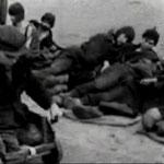 Лагерь Stalag (Шталаг) VI-C Витмаршен.   Съёмка 1944 года.