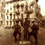 Шухтуев И.К. на улице Берлина