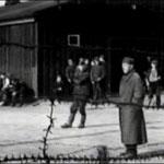 Лагерь Stalag (Шталаг) VI-C Витмаршен.   Съёмка 1944 года. Бараки.