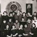 Байгильдинская средняя школа. Классный руководитель 9 класса. 1979-80 уч.г.