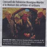 Journal La Montagne 8 Janvier 2015