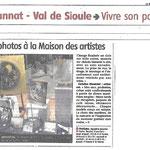 Journal La Montagne 8 février 2016