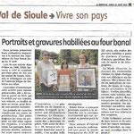 Journal La Montagne 10 Août 2015