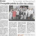 Journal La Montagne 05 Août 2015