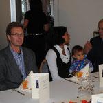 Dr. Gregor Maiwald mit Frau und Tochter