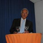 Prof. Dr. Richard Raedsch hielt die Laudatio!