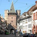 Spalentor, mittelalterliches Stadtor in Basel