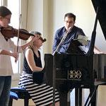 """Con la bravissima Benedetta, Conservatorio """"Schipa"""" di Lecce"""
