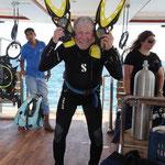Nicht nur bei dem Ocean Window Team war die Freude auf den ersten Sprung gross!