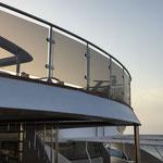Braunes Glas statt Holz - die Ocean Window mag es luftig :-D