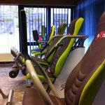 21.02.14:Die Trainingsgeräte sind da - jetzt fehlen nur noch der Crosser und das Bike!!! Geil
