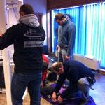 22.02.14: Unsere gebrauchten Geräte werden heute ihrer neuen Verwendung zugeführt. Die HSG Fichtelgebirge hat diese von uns gespendet bekommen. Viel Freude damit Jungs!