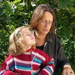 Hilde Berger mit Enkelin Ilvy