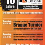 Kolpingjugend Dingolfing zehnjähriges Jubiläum