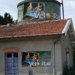 Vélo-rail de Consenvoye, 15 km nord de Verdun