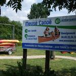 Canoé sur la Meuse