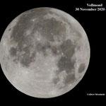 Vollmond 30 November 6 Uhr