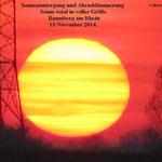 Sonnenuntergang November 2014