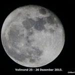 Vollmond 26 Dezember 2015