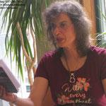 Ute Lesung WAV Sommerfest, 9 July 2014 Monheim Bibliothek