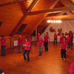 Training im Bürgerhaus Zimmern