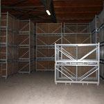 Kartoffeln, soweit das Auge reicht. In unserer Kühlhalle stehen die Kisten bis knapp unter das Dach.