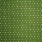 Jersey grün mit weißen Sternen ca. 10mm