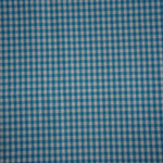 Vichykaro türkis/weiß ca. 4x5mm