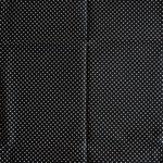 schwarz mit weißen Punkten ca. 2mm