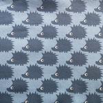 Jersey Igel blau