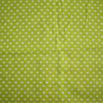 grün mit weißen Herzen ca. 6mm