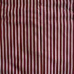 dunkelrot weiß gestreift ca. 5mm