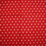 rot mit weißen Sternen ca. 10mm