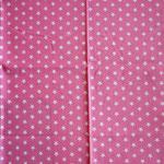 pink mit weißen Sternen ca. 10mm